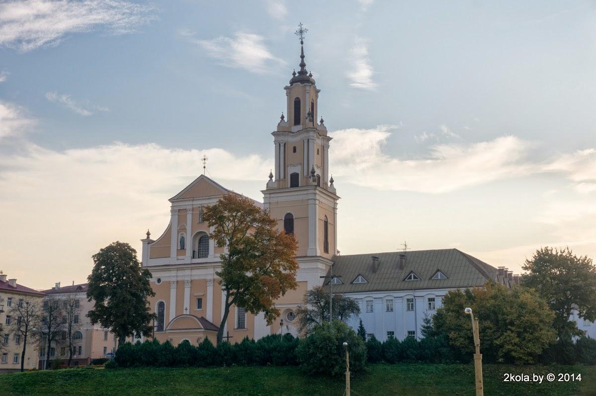 Касцёл Адшукання Святога Крыжа і кляштар бэрнардынаў