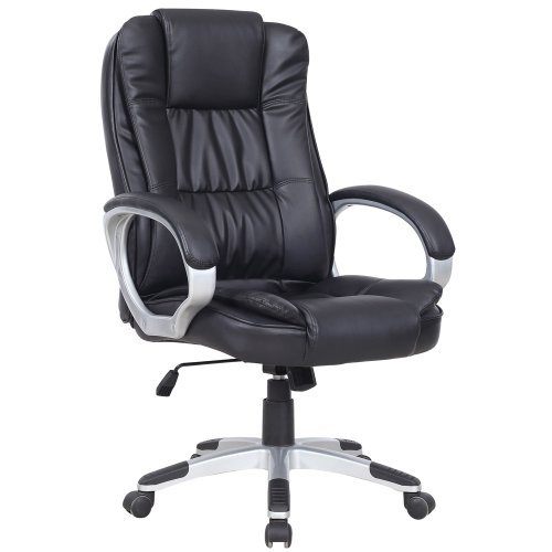 executive office chairs specifications shampoo bowl chair paragon high back computer desk black ch08319 d01