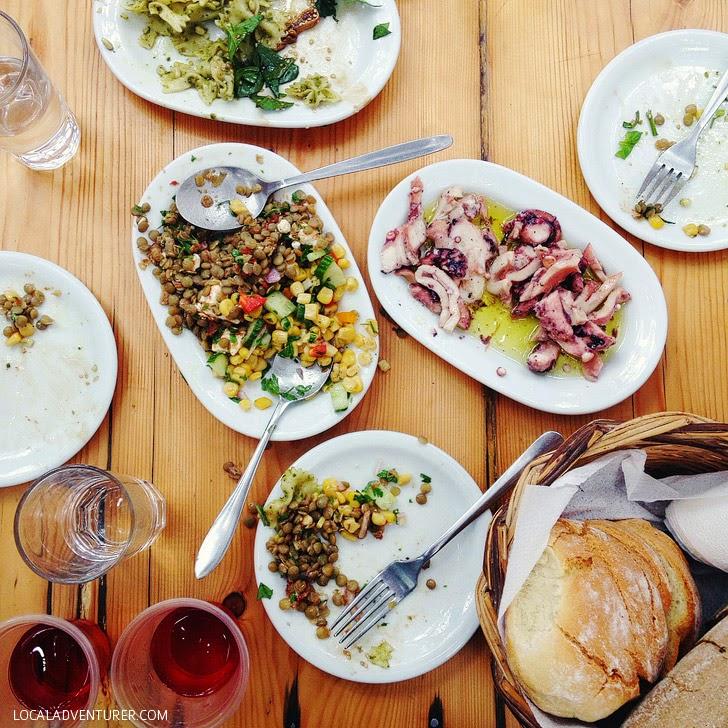 Kikis Restaurant (Best Restaurant in Mykonos).