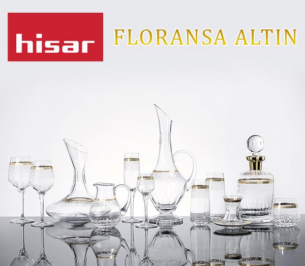 Hisar Floransa Altın Cam Koleksiyonu