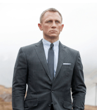 James Bond 007 Skyfall Daniel Craig Fashion Tie Knot Style ...