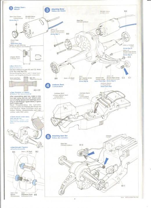 Tamiya Kits: Tamiya Mitsubishi Pajero Build Manual