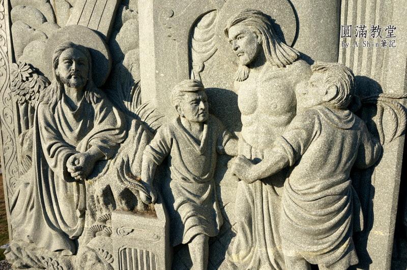 圓滿教堂 偶像劇敗犬女王也來這裡朝聖取景,圓滿教堂真的是一個適合拍照攝影取景的台中景點。