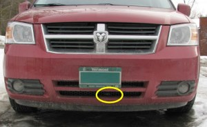 Replace Ambient Air Sensor myself? P0073  Chrysler Forum  Chrysler Enthusiast Forums