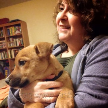 puppy Bel December 2013