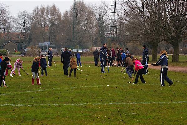 Hockey leren spelen in Roeselare