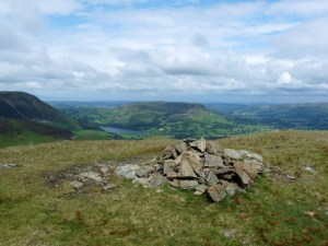 Hen Comb Summit - looking towards Loweswater and Lorton