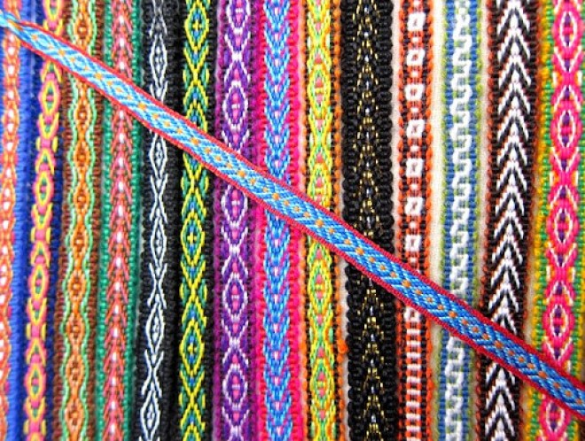 Bracelets, Otavalo, Ecuador