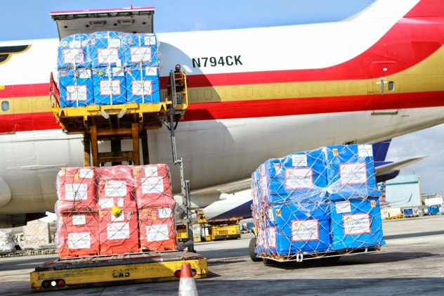 Direct Relief Airlifts Emergency Ebola Aid