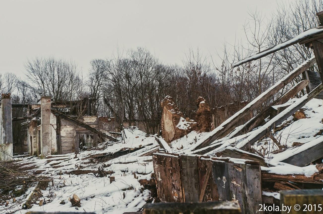 Красная Звязда (Радзівілімонты). Сядзібна-паркавы ансамбль Радзівілаў