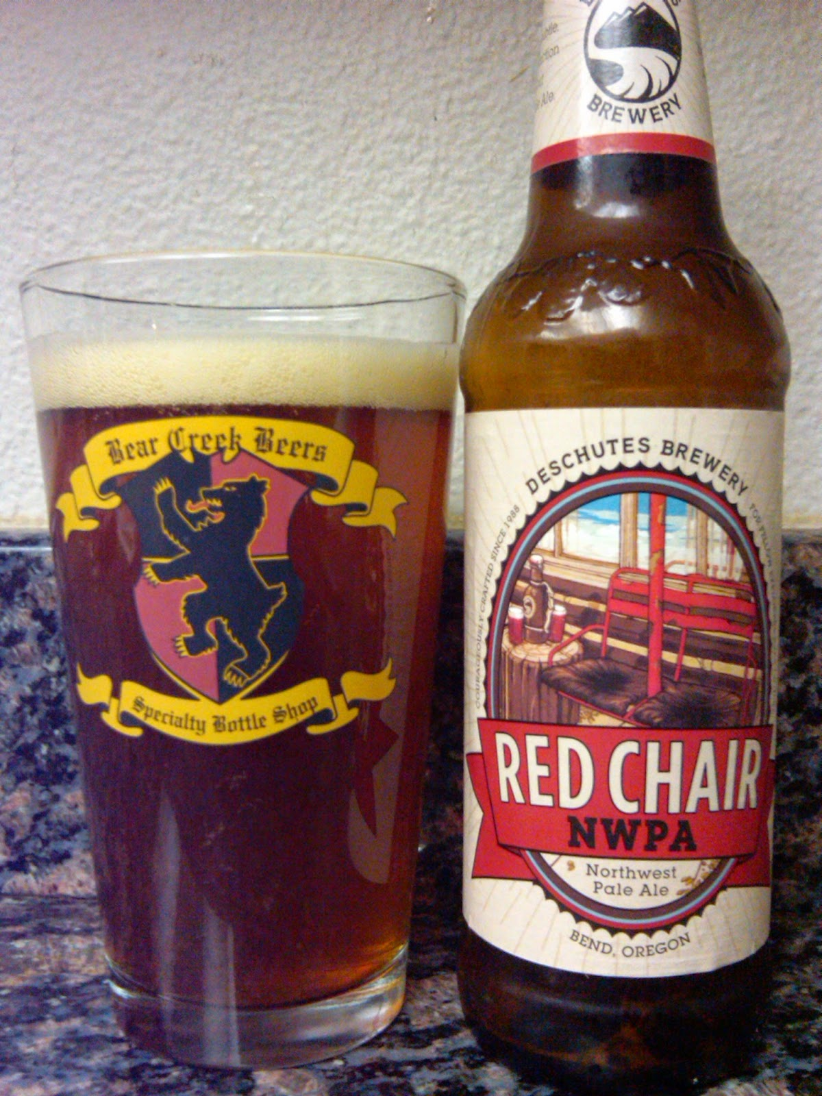 deschutes red chair cushions for wrought iron patio chairs 365 days of beer brewing northwest