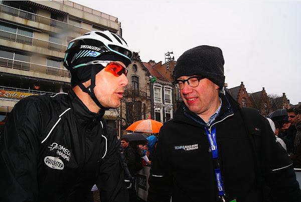 Kristof Vandewalle en Patrick Verhoest