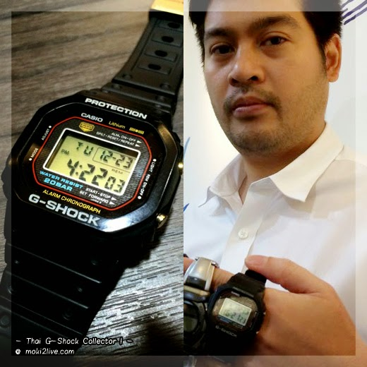 Thai G-Shock Collector G-Shock รุ่นหายาก G-Shock 1983 original DW-5000C - First G-Shock