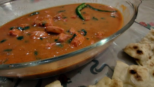Butter Chicken or Makhni Chicken
