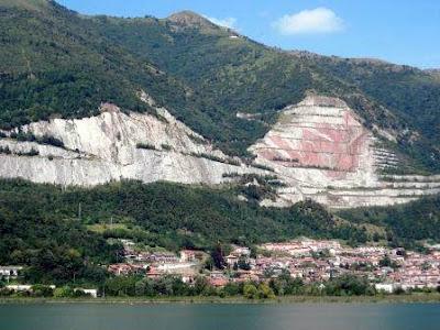 Le cave Holcim sul Cornizzolo