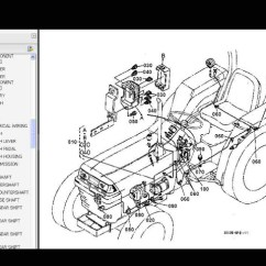 Kubota Wiring Diagram Pdf Grasslin Defrost Timer Lorestaninfo L2500dt L2500f L2500 Dt F Tractor Parts Manuals For Sale