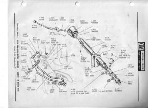 60 Steering column diagram  The 1947  Present Chevrolet
