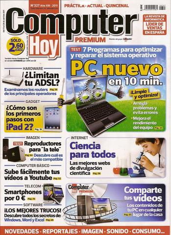 Computer Hoy: PC Nuevo en 10 minutos Nro. 327