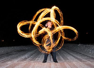 Fire Spinning - John Walsh