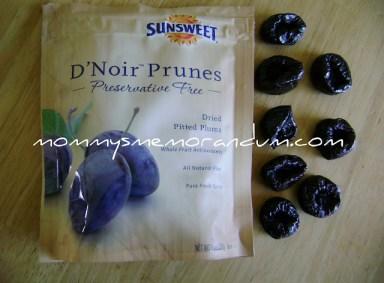 D'licious D'Noir Prunes by Sunsweet