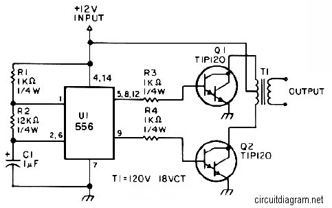 Free Wiring Diagram: Inverter Circuit Pdfspf1