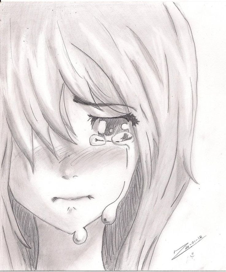 How To Draw Crying : crying, Crying, Howto, Techno
