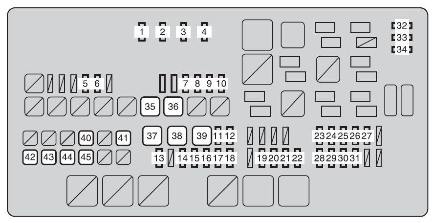 2016 Toyota Tundra Fuse Box Diagram : Toyota Tundra (2000