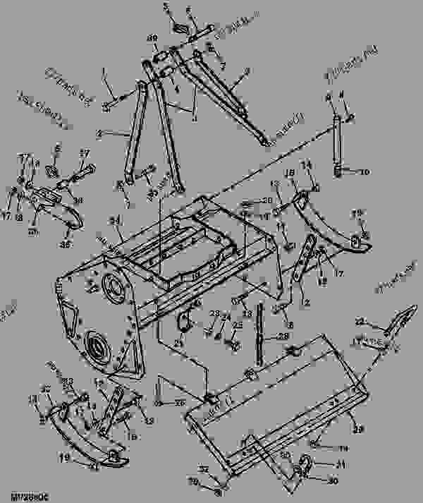 Wiring Diagram Database: John Deere 2210 Parts Diagram