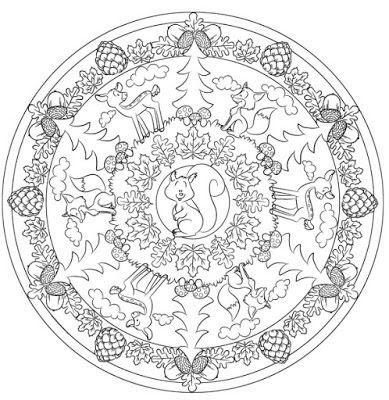 Malvorlagen Mandala Herbst Aiquruguay