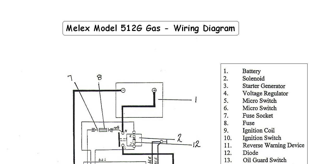 1999 Club Car Ignition Wiring Diagram