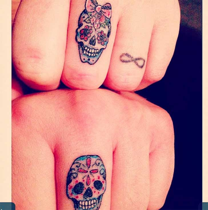 Tatuaje Calavera Mexicana Mujer Guatelinda