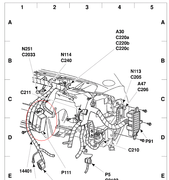 schematics and diagrams: 2002 Ford Ranger Flasher relay