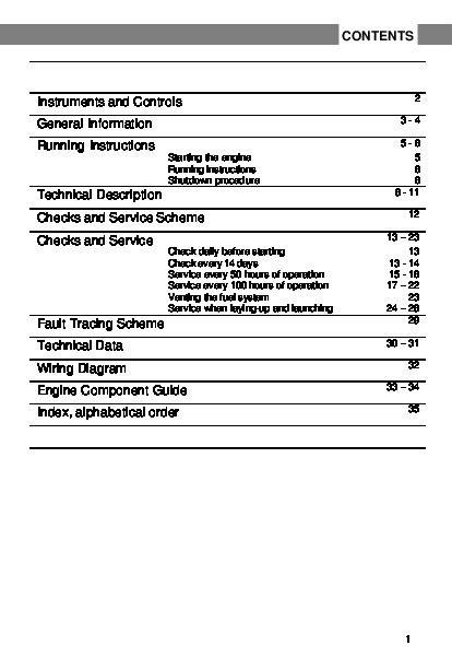 Read Online volvo penta saildrive service manuals PDF