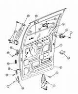 Sliding Door Parts: Dodge Ram Van Sliding Door Parts