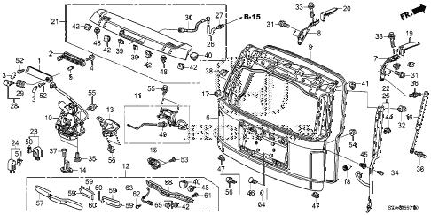 Wiring Diagram: 30 Honda Pilot Parts Diagram