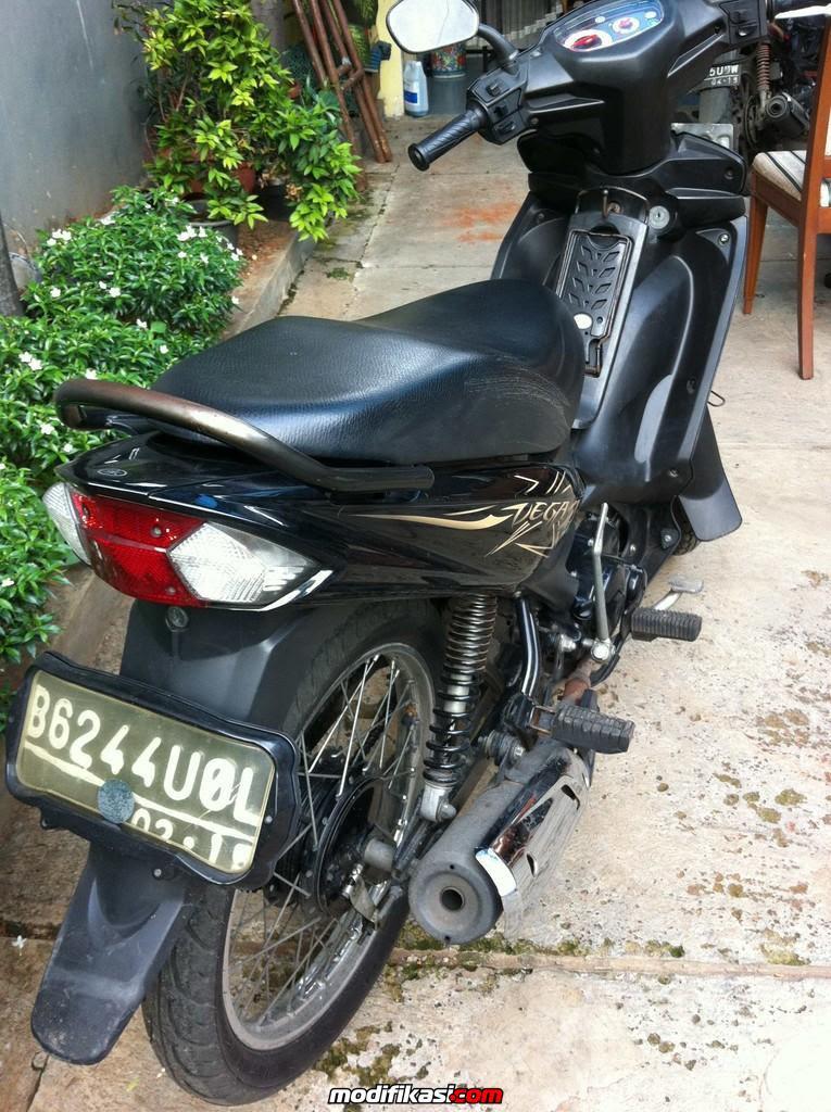 Modifikasi Motor Vega Zr Warna Hitam : modifikasi, motor, warna, hitam, Modifikasi, Motor, Hitam, Sumpah