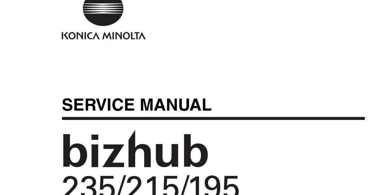 Konica Minolta 215 : Konica Minolta Bizhub 215 Monochrome