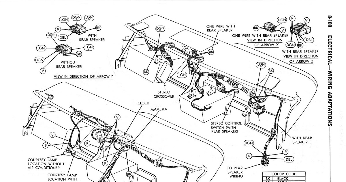 Wiring Diagram For 2010 Dodge Charger / The Autonerdz