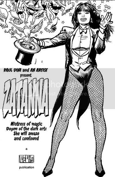 Justice League Detroit: 2002 Zatanna: Everyday Magic Cover