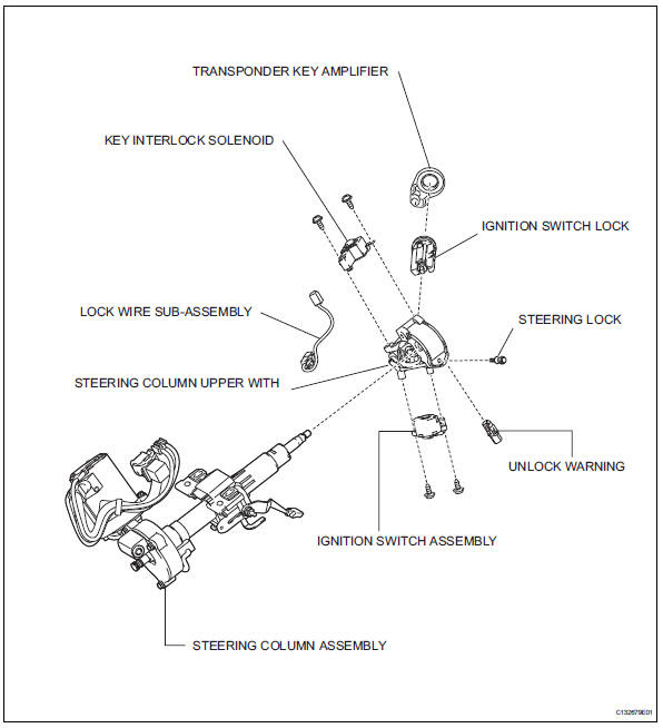 Ignition Key Toyota Ignition Switch Wiring Diagram
