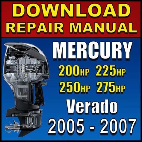 Free Reading mercury verado manual download How To