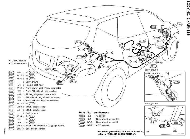 Wiring Diagram: 29 2006 Nissan Murano Parts Diagram