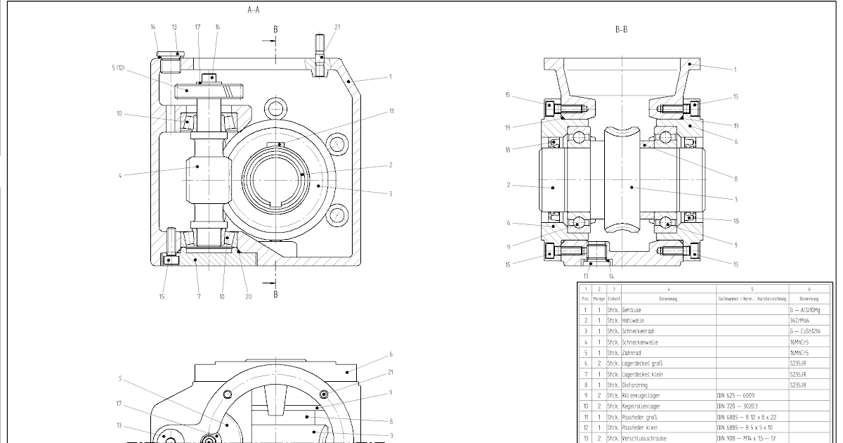 Mechanical Working Drawing Sample Question Paper