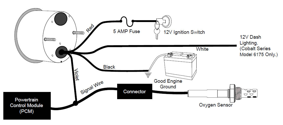 Sunpro Amp Gauge Wiring Schematic