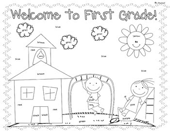 First Day Of School: First Day Of School Activities Grade 1