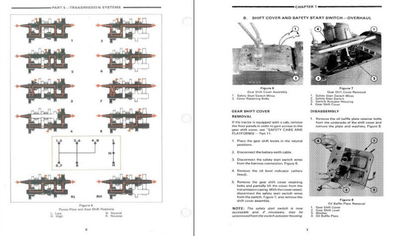 Ford 2600 Tractor Wiring Diagram / 7600 Ford Tractor