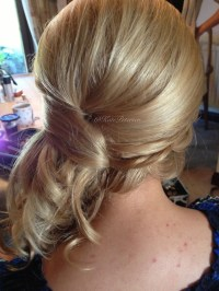Wedding Hairstyles Pinned To The Side