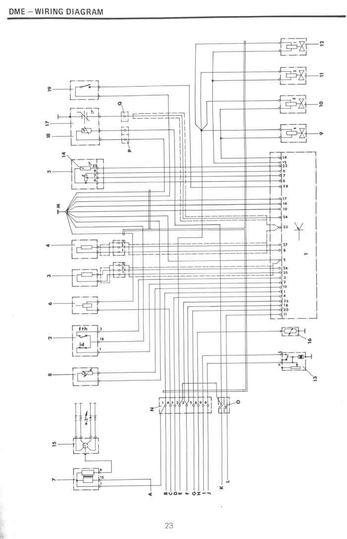 Porsche 924 Schaltplan