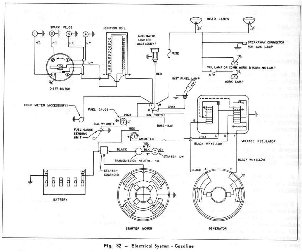 [DIAGRAM in Pictures Database] Massey Ferguson 230 Wiring