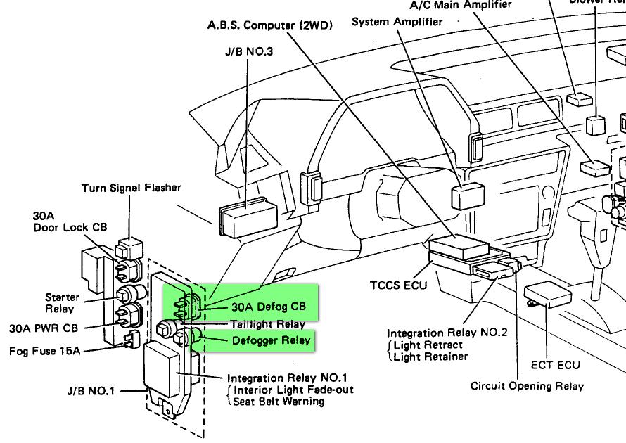 1990 Toyota Celica Engine Diagram : 1993 Toyota Celica